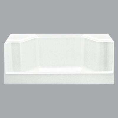 Sterling Advantage 48 In. W x 34 In. D Center Drain Seated Shower Shower Floor & Base in White