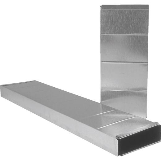 Imperial 30 Ga. 3-1/4 In. x 10 In. x 60 In. Galvanized Stack Duct