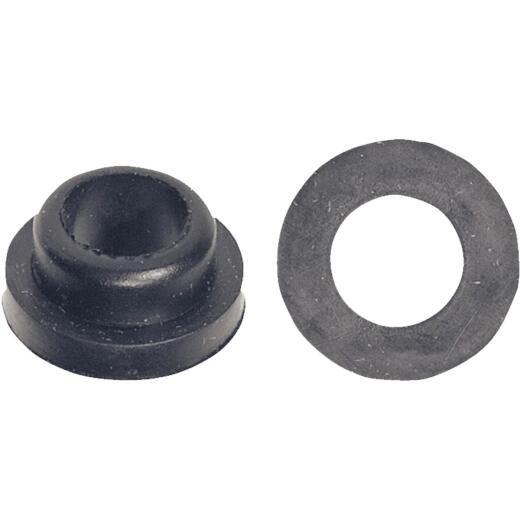 Danco 23/32 In. x 11/32 In. Black Rubber Slip Joint Washer