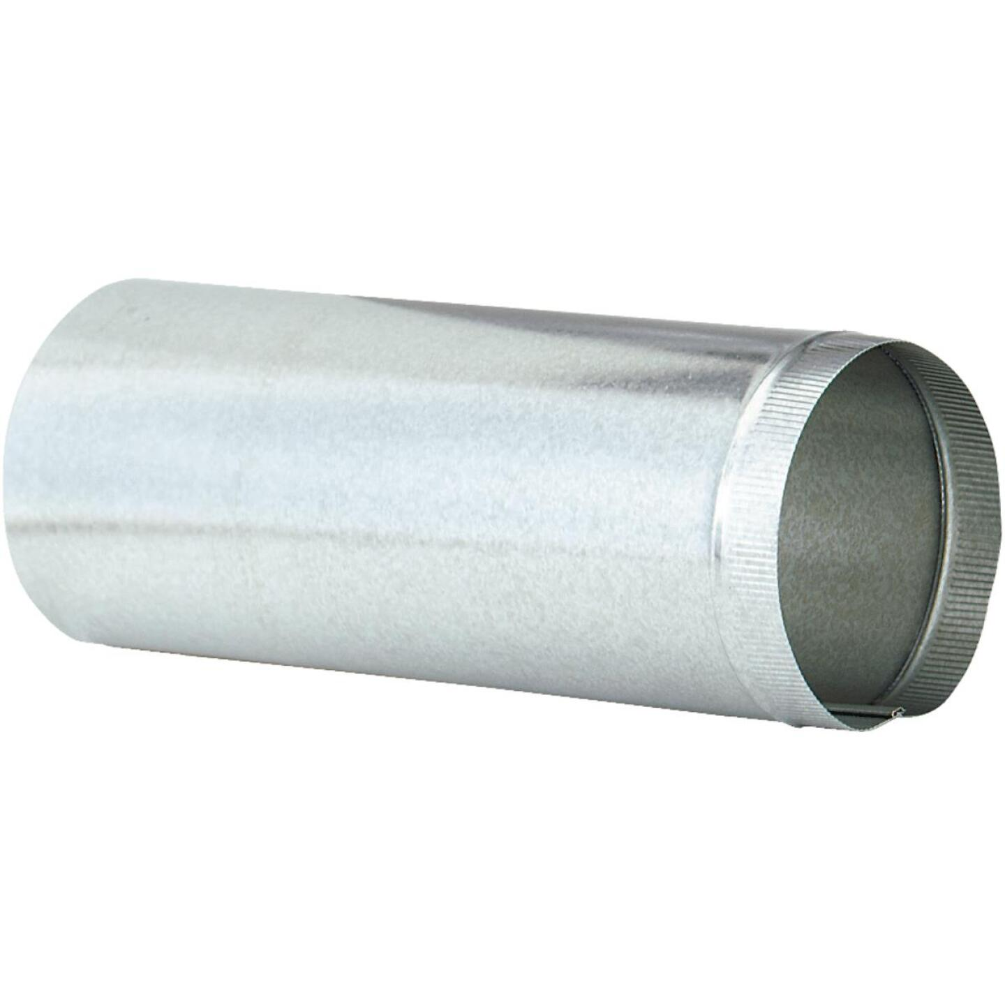 Imperial 24 Ga. 10 In. x 24 In. Galvanized Furnace Pipe Image 2