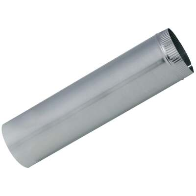 Imperial 24 Ga. 10 In. x 24 In. Galvanized Furnace Pipe