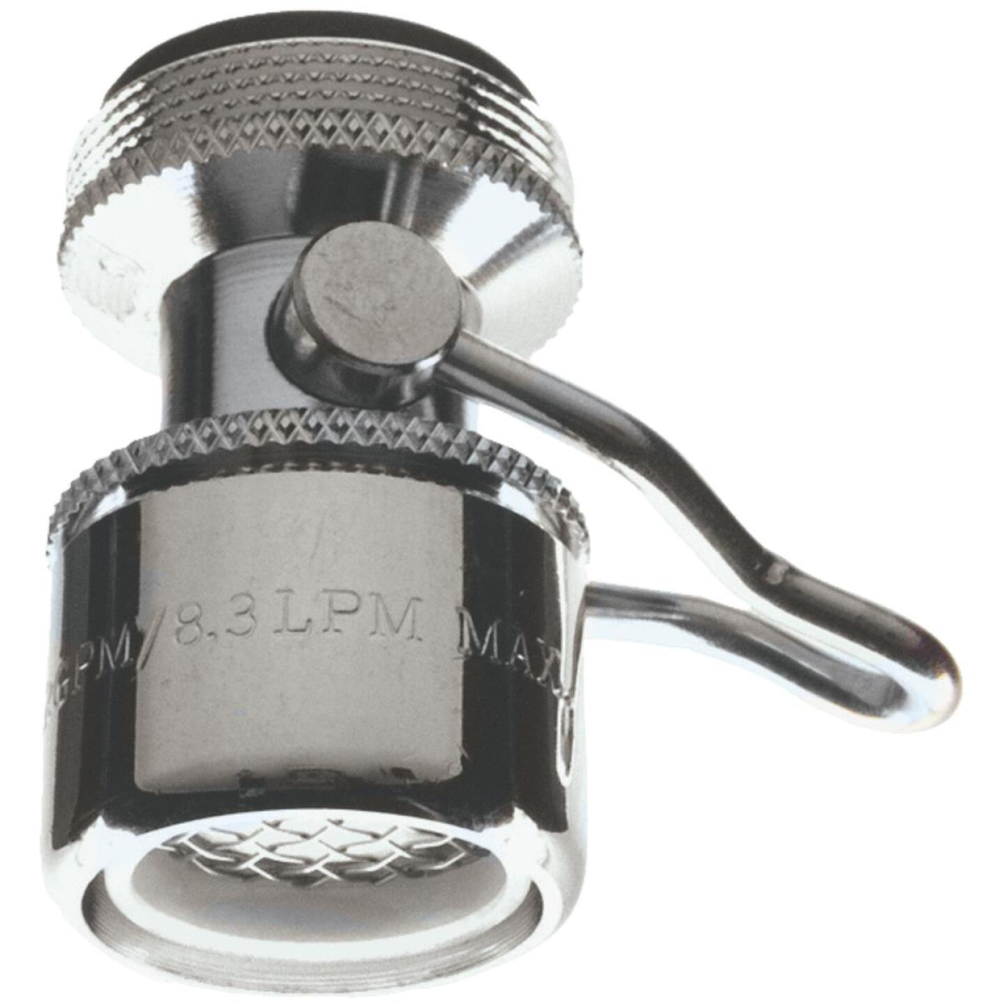 Do it 1.5 GPM Dual Thread Faucet Aerator with On/Off Switch Image 1