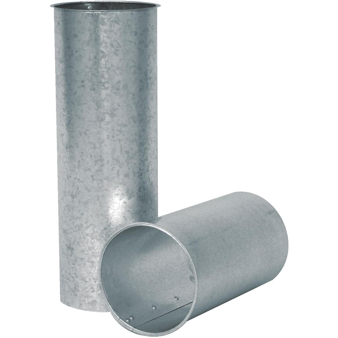 Imperial 28 Ga. 8 In. x 6 In. Galvanized Chimney Thimble Image 1