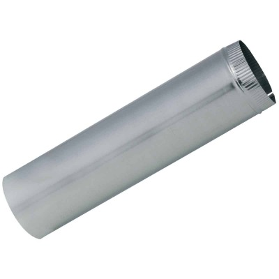 Imperial 26 Ga. 6 In. x 12 In. Galvanized Furnace Pipe