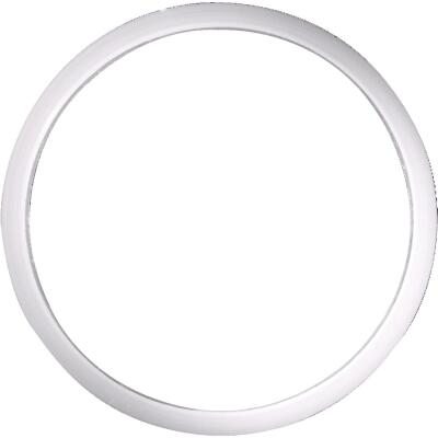 Danco 1-1/2 In. x 1-3/4 In. Clear/White Polyethylene Slip Joint Washer