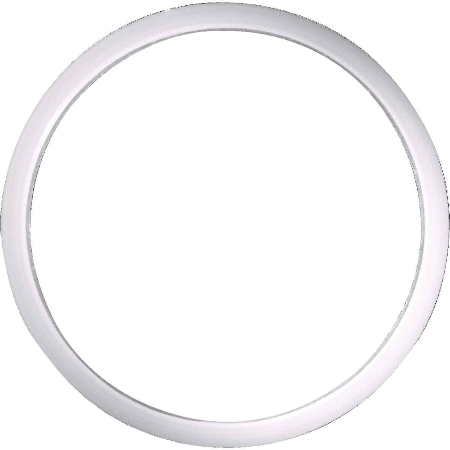 Danco 1-1/2 In. x 1-3/4 In. Clear/White Polyethylene Slip Joint Washer Image 1