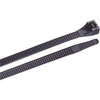 Gardner Bender 17 In. x 0.35 In. Black Nylon Ultra Violet Heavy-Duty Cable Tie (10-Pack)