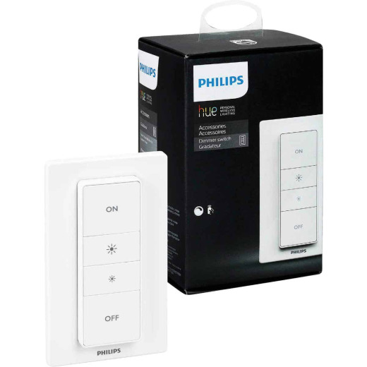 Philips Hue White Battery Powered Wireless Dimmer Switch