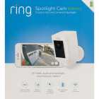 Ring Wireless Indoor/Outdoor White Security Camera with Spotlight Image 2