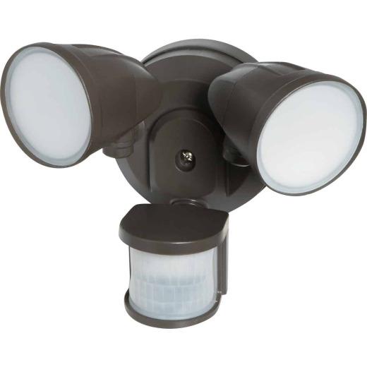 Bronze Motion Sensing LED Floodlight Fixture