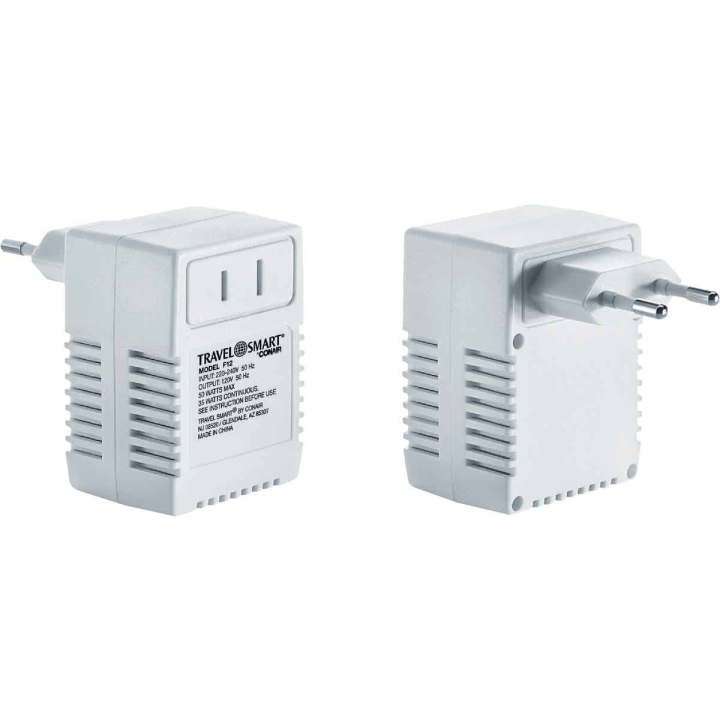Franzus Travel Foreign to US Voltage Converter Image 1
