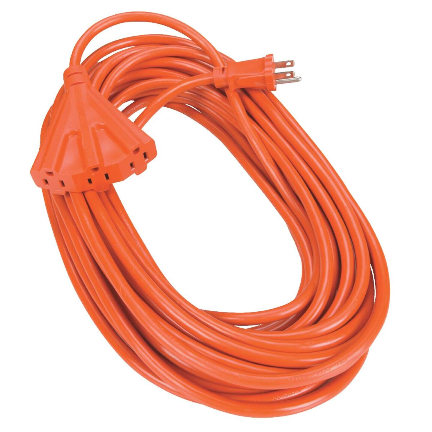 Do it 50 Ft. 14/3 Extension Cord with Powerblock Image 1