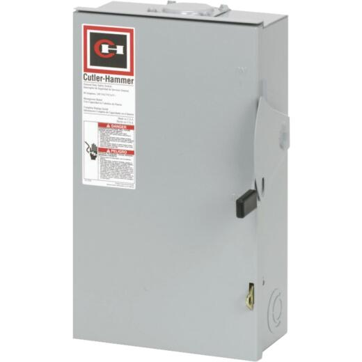 Eaton 60A DG Series Rainproof General-Duty Safety Switch