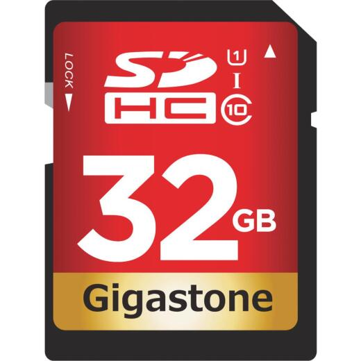 Gigastone Prime Series 32 GB SDHC Card