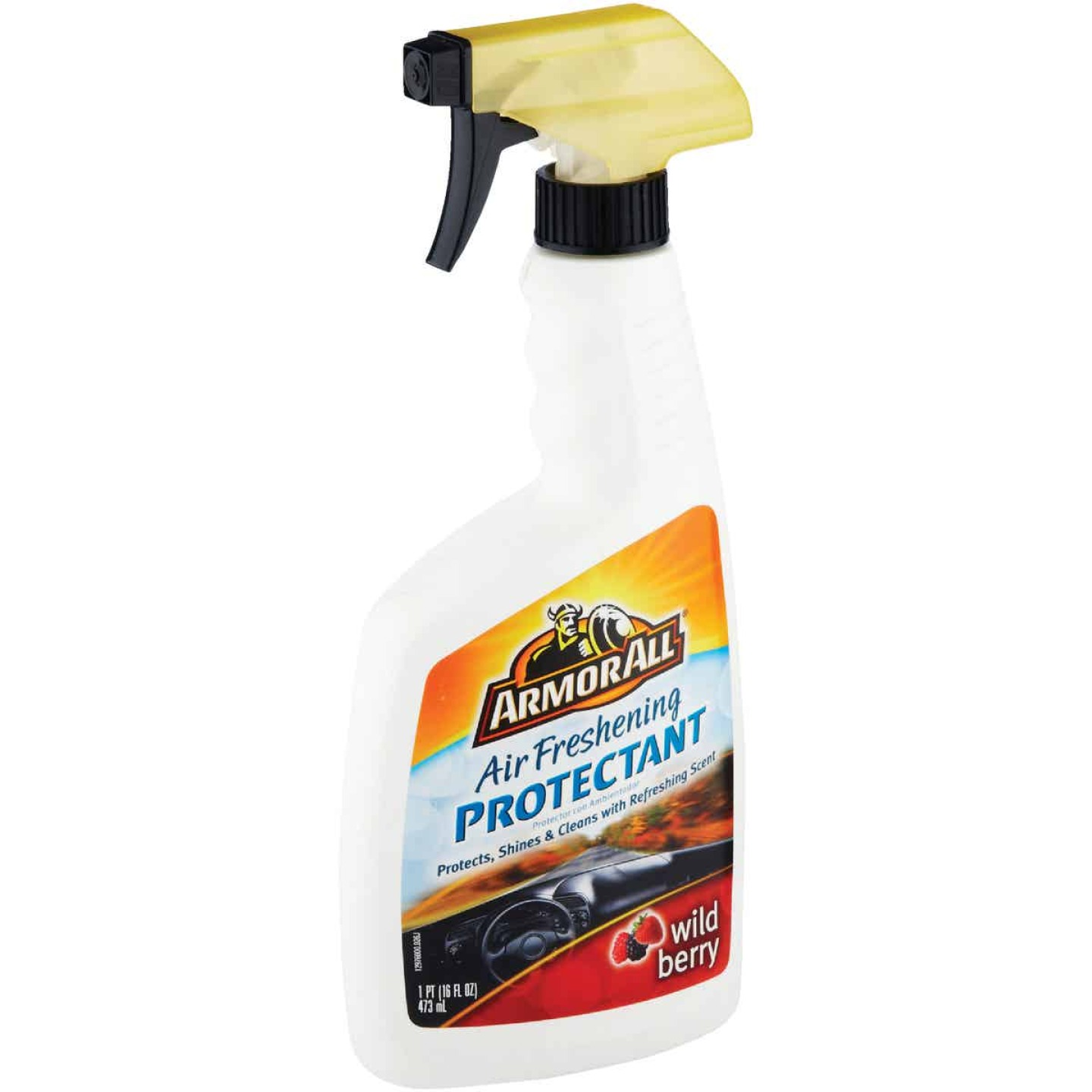 Armor All 16 Oz. Pump Spray Air Freshening Protectant, Wild Berry Scent Image 2