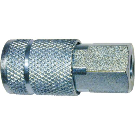 Tru-Flate Series Push-to-Connect 3/8 In. FNPT Coupler