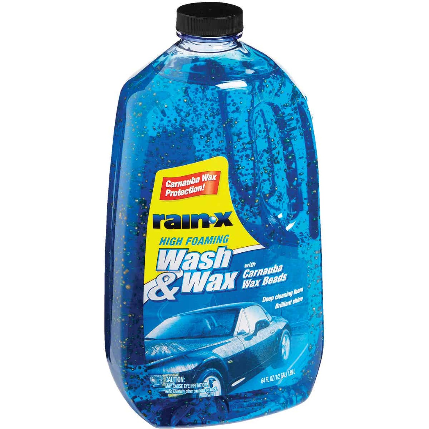 RAIN-X 64 Oz. Liquid High Foaming Car Wash & Wax w/Carnauba Wax Image 4
