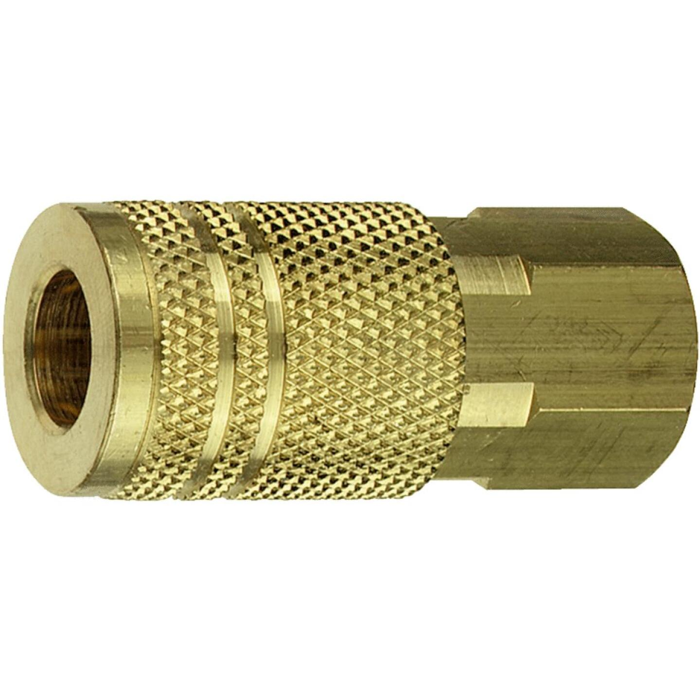Tru-Flate Industrial/Milton Series Push-to-Connect 3/8 In. FNPT Coupler Image 2