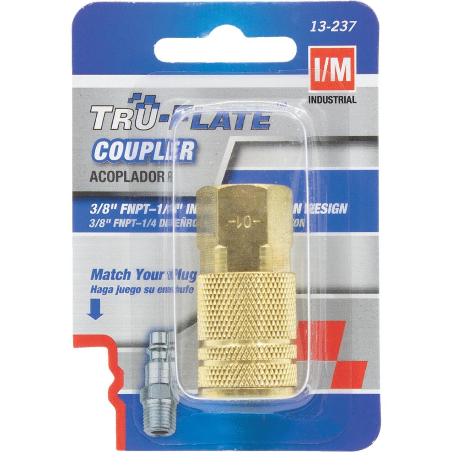 Tru-Flate Industrial/Milton Series Push-to-Connect 3/8 In. FNPT Coupler Image 1