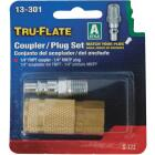 Tru-Flate 1/4 In. Coupler and Plug Image 2