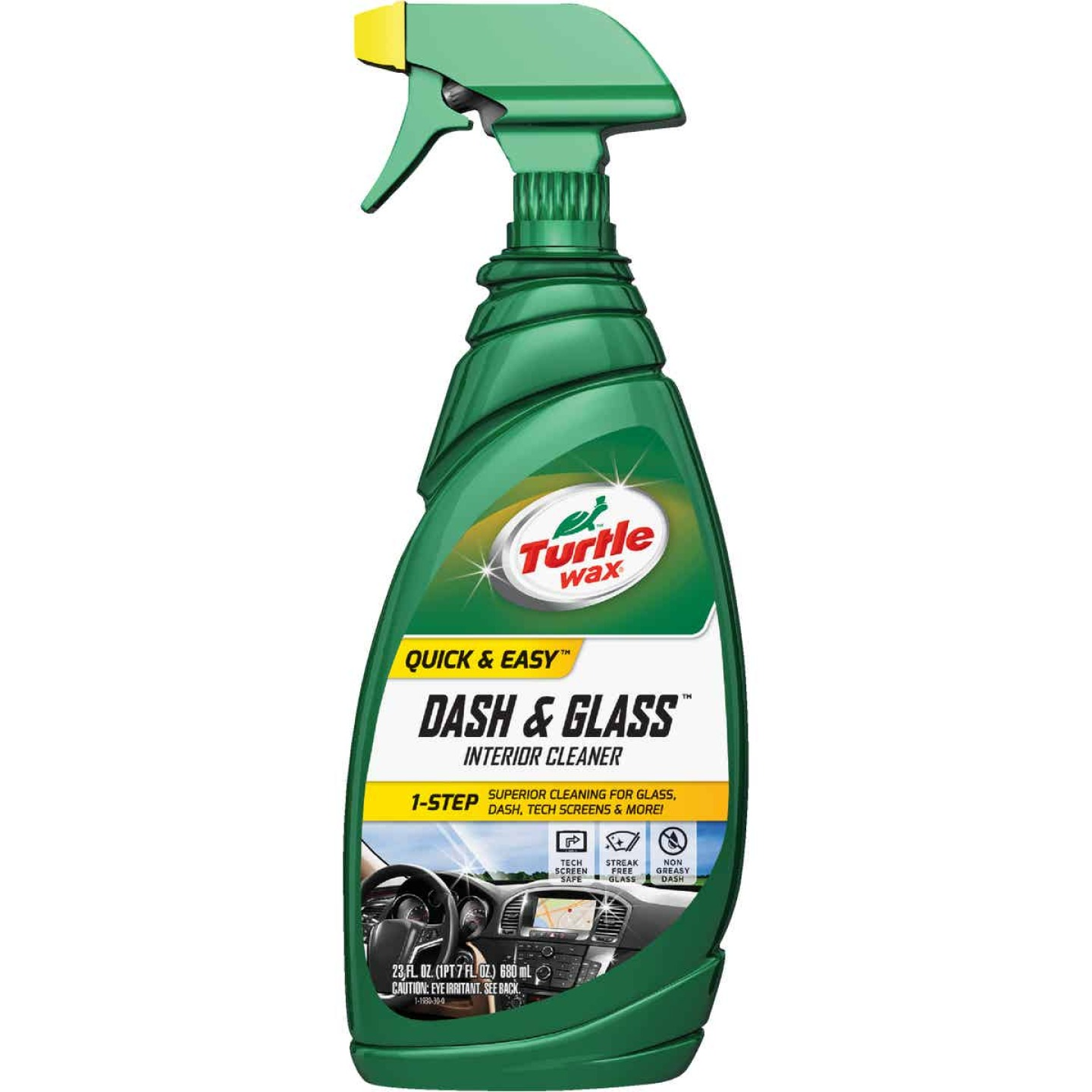 Turtle Wax Dash & Glass 23 Oz. Trigger Spray Auto Interior Cleaner Image 1