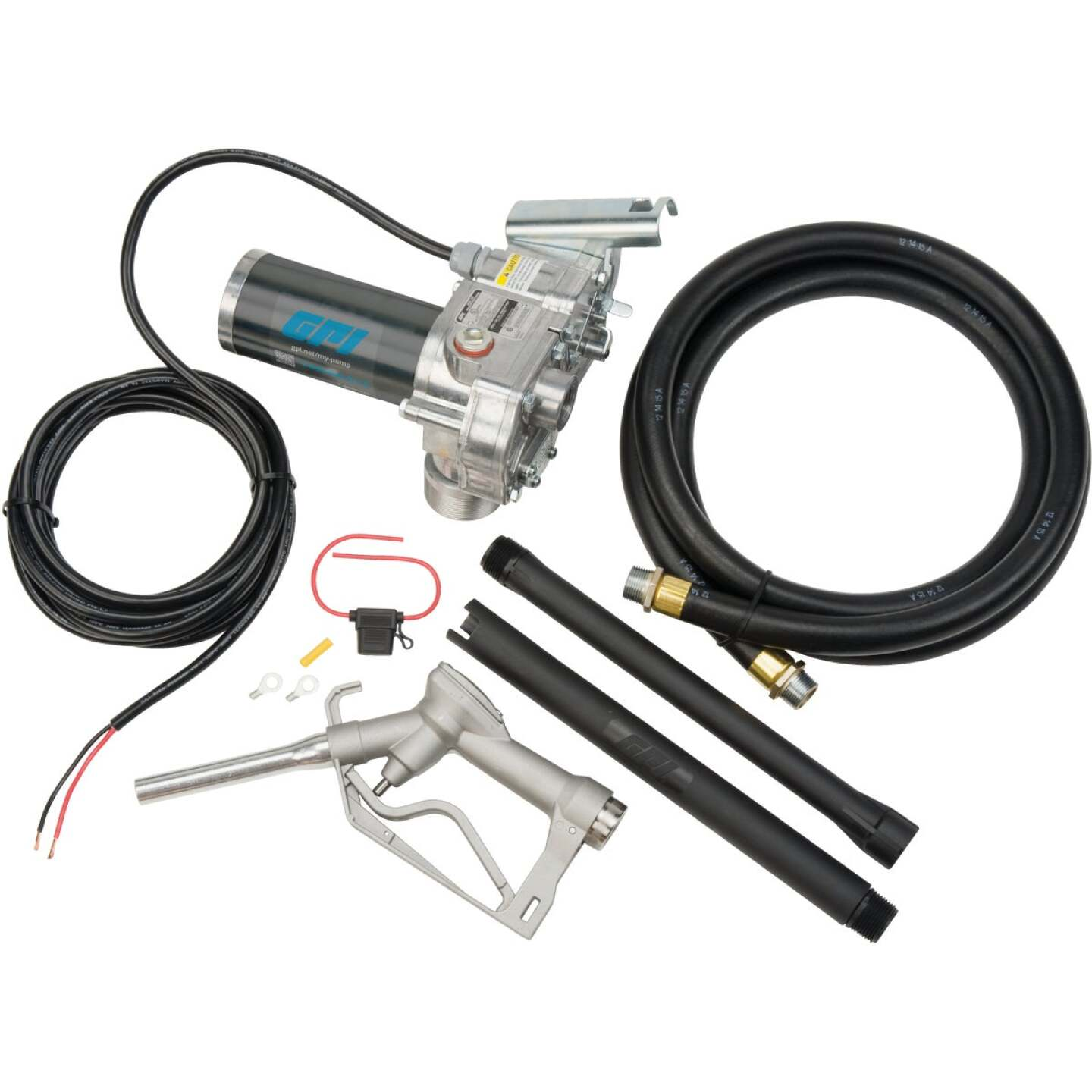 GPI 12V DC, 15 GPM Manual Economy Fuel Transfer Pump Image 3