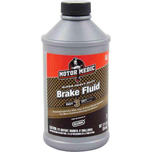 MotorMedic 12 Oz. Super Heavy-Duty DOT 3 Brake Fluid