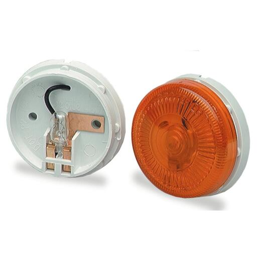 Peterson Round 12 V. Red Clearance Light