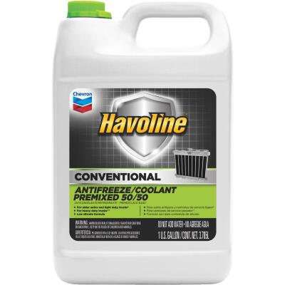 Havoline Conventional Gallon 50/50 Pre-Diluted -34 F to 265 F Automotive Antifreeze
