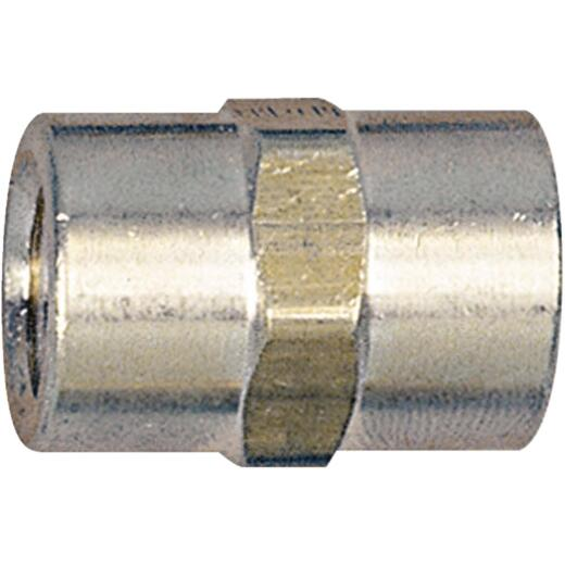 Tru-Flate Female 1/4 In. FNPT Brass Coupler