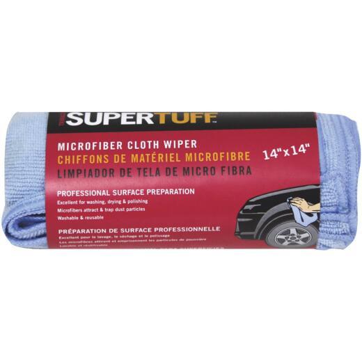 Trimaco SuperTuff 14 In. Square Microfiber Cleaning Cloth (3-Pack)