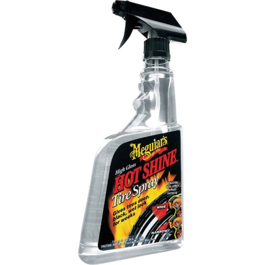 Meguiars Hot Shine High Gloss 24 Oz. Trigger Spray Tire Shine