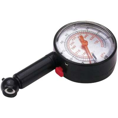 Custom Accessories 10-100 psi Tire Gauge