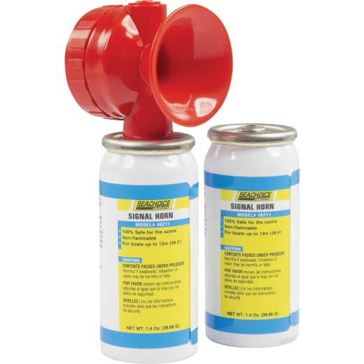 Seachoice 115 dB Mini Air Horn Kit (2-Pack)