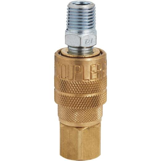 Milton 1/4 In. M-Style Coupler and Plug