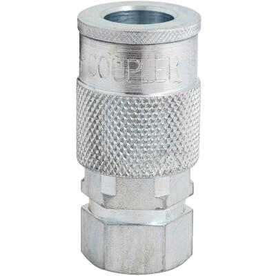 Milton 3/8 In. FPT H-Style Brass Coupler