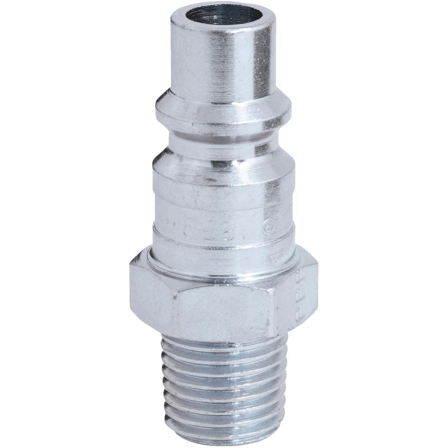 Milton 1/4 In. NPT H-Style Male Steel-Plated Plug Image 1
