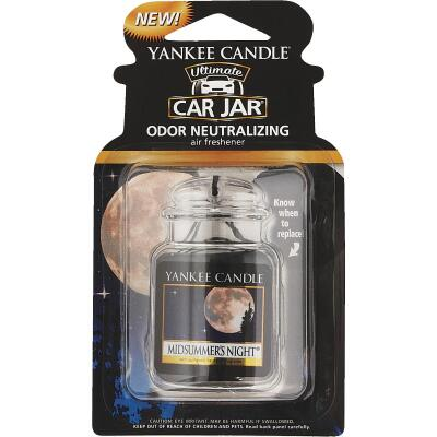 Yankee Candle Car Jar Ultimate Car Air Freshener, Midsummer's Night