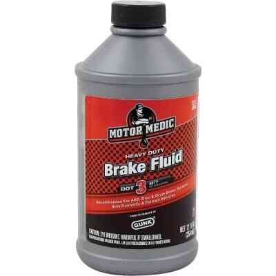 MotorMedic 12 Oz. Heavy-Duty DOT 3 Brake Fluid