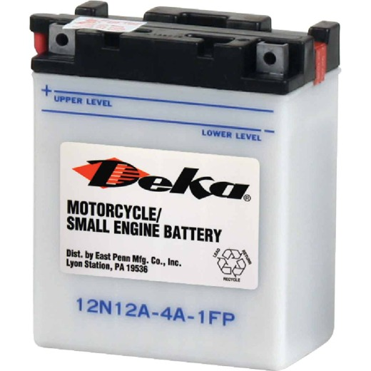 Deka 12-Volt 113 CCA Powersport Battery, Left Front Positive Terminal