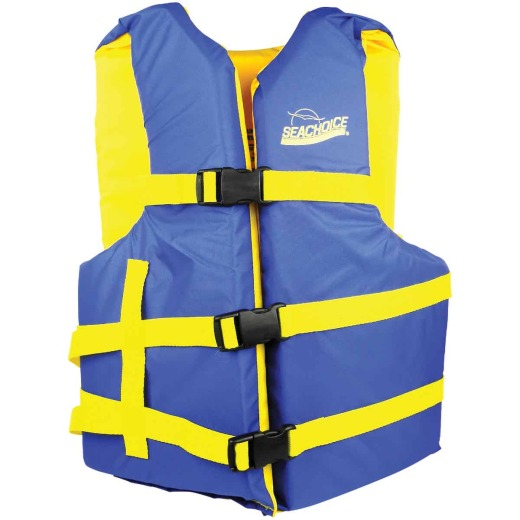 Seachoice Adult USCG Type III 90 Lb. and Up Adjustable Boating Life Vest