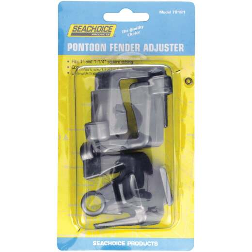 Seachoice 1 In. and 1-1/4 In. Square Pontoon Fender Adjuster (4-Pack)