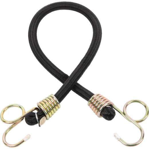 Erickson 1/2 In. x 24 In. Industrial Power Pull Bungee Cord, Black
