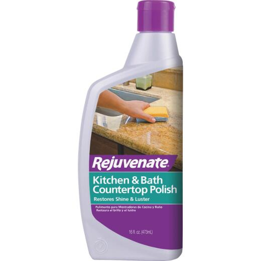 Rejuvenate 16 Oz. Kitchen & Bath Countertop Polish