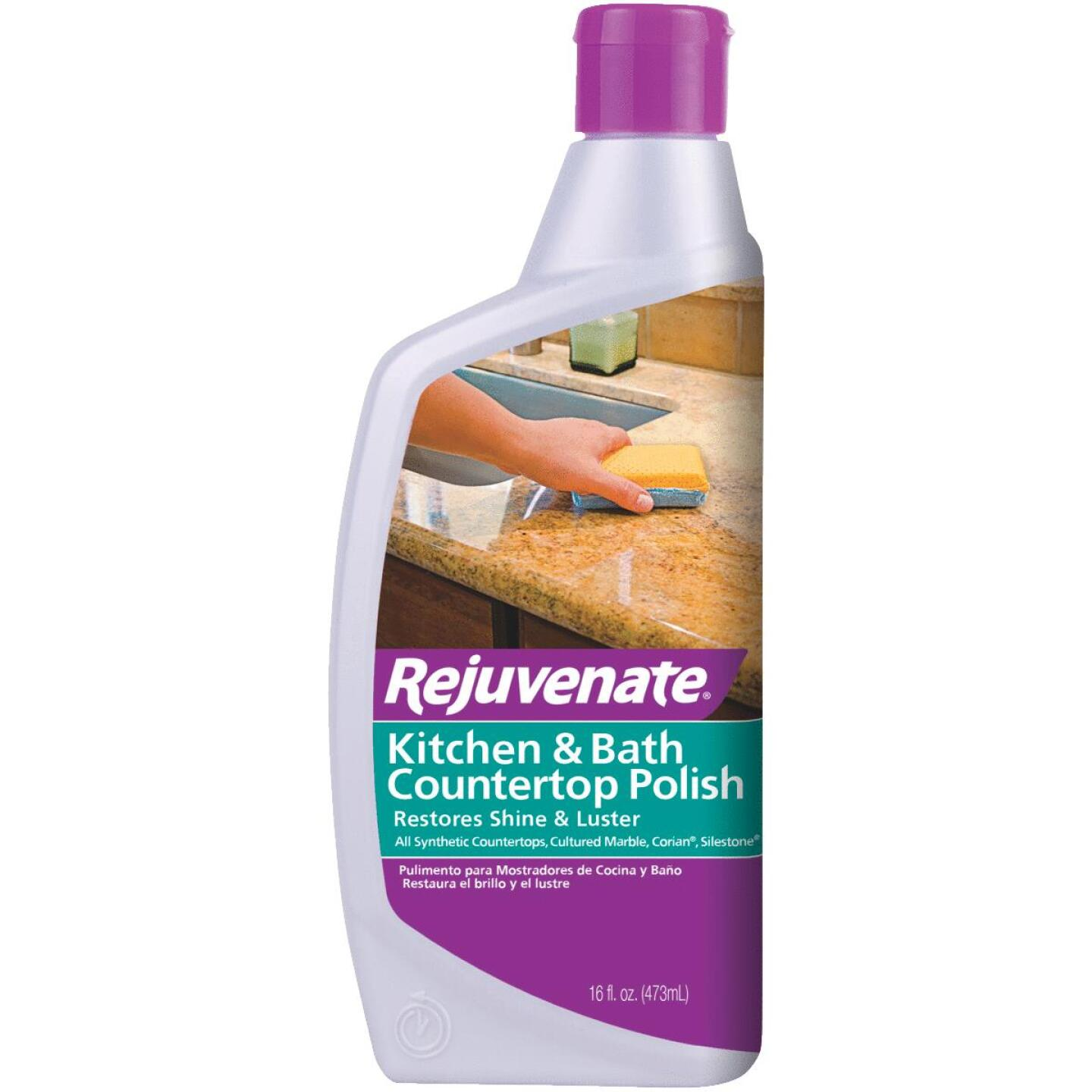 Rejuvenate 16 Oz. Kitchen & Bath Countertop Polish Image 1