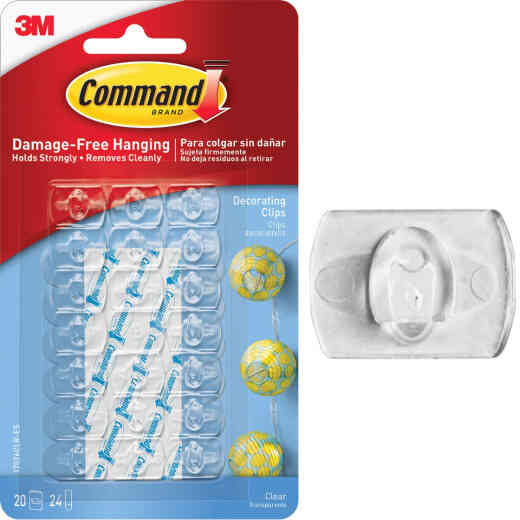 Command Decorating Adhesive Clip