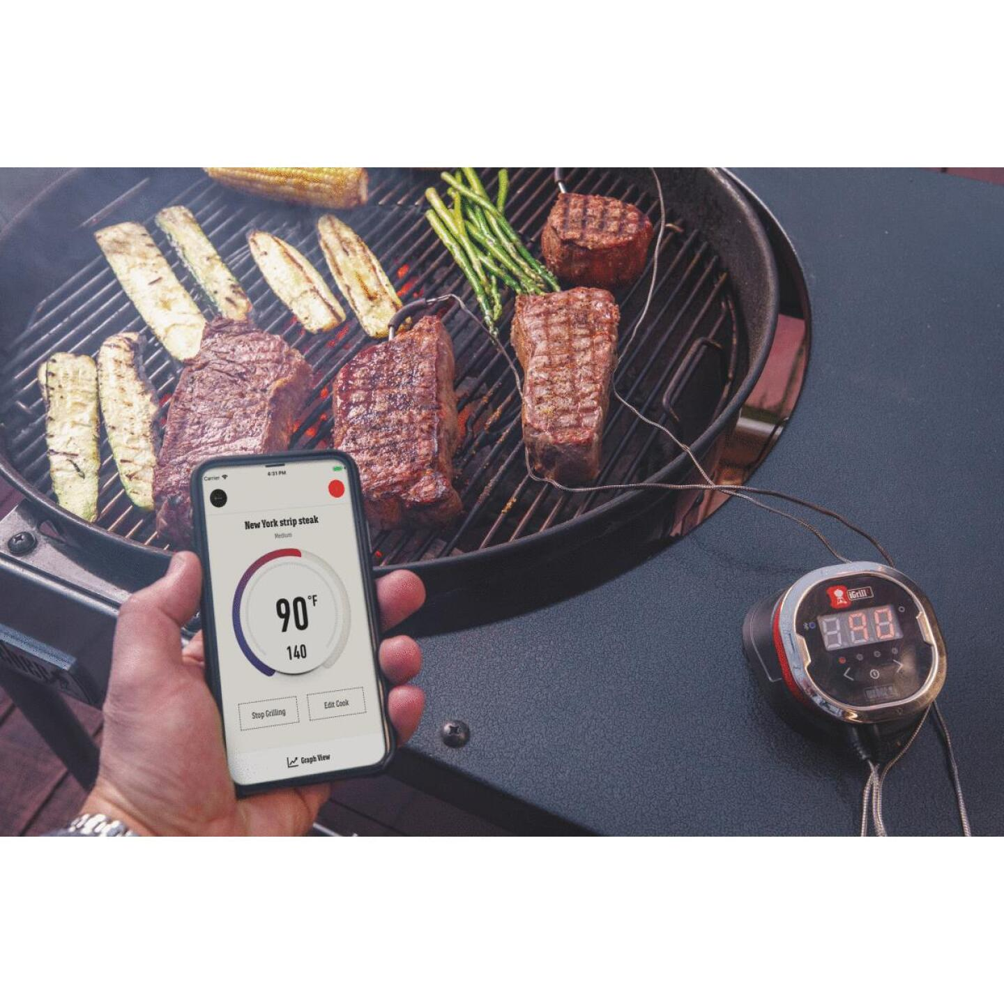 Weber iGrill2 Bluetooth Thermometer Image 3