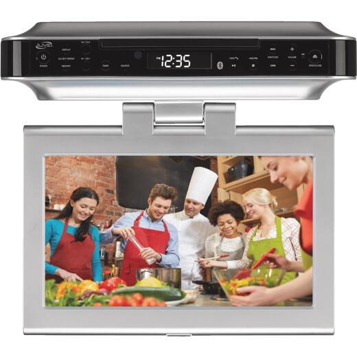 iLive Wireless Under Cabinet TV DVD and Music System