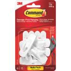 Command 7/8 In. x 2-3/8 In. Utility Adhesive Hook (6 Pack) Image 2