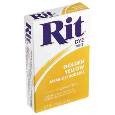 Rit Golden Yellow 1-1/8 Oz. Powder Dye